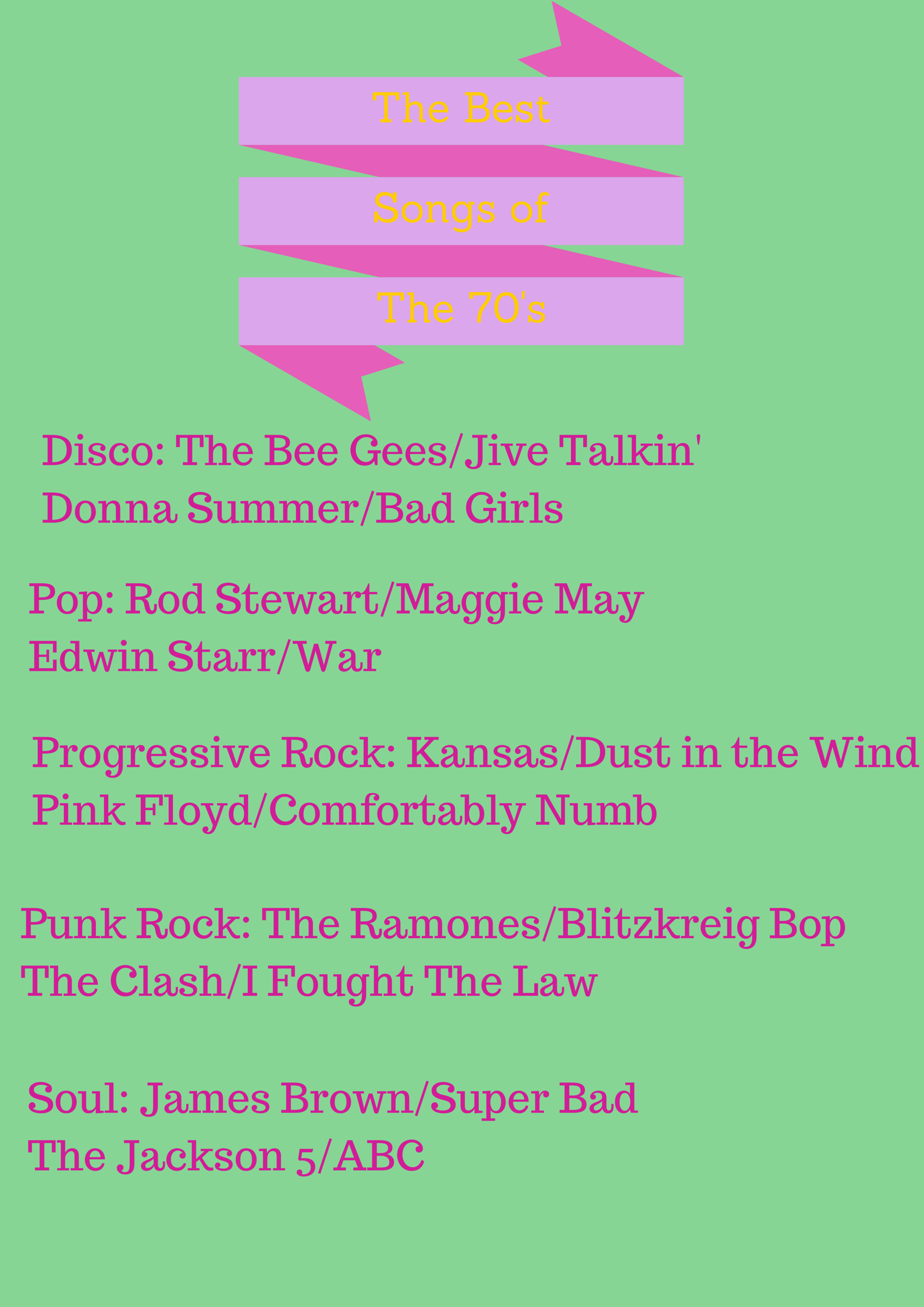 Best Songs Of the 60s (1)