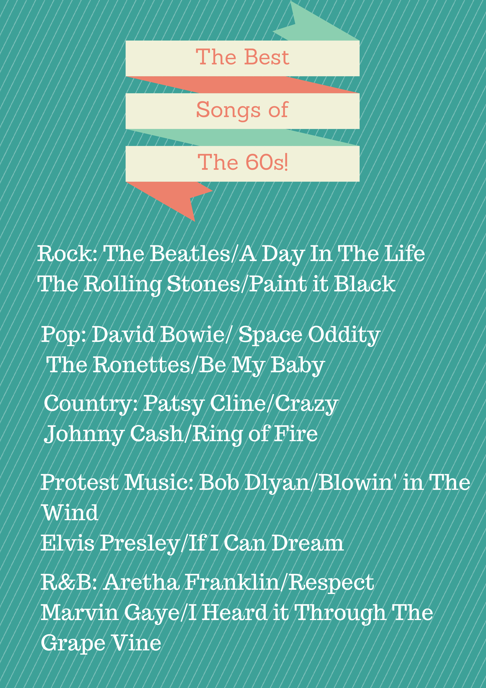 Best Songs Of the 60s