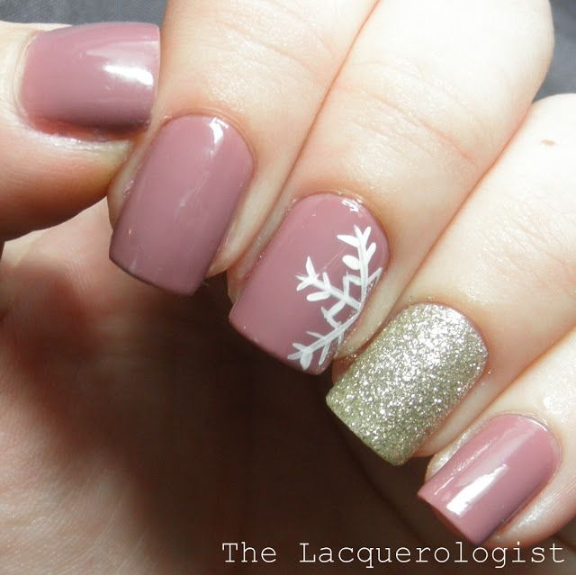7 Holiday Nail Designs From Pinterest