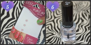 Flowers In The Field Nail Art Tutorial - Step 5 & 6