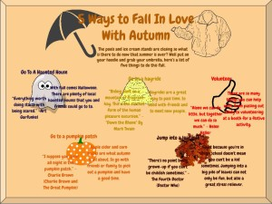 5 Ways To Fall In Love With Autum