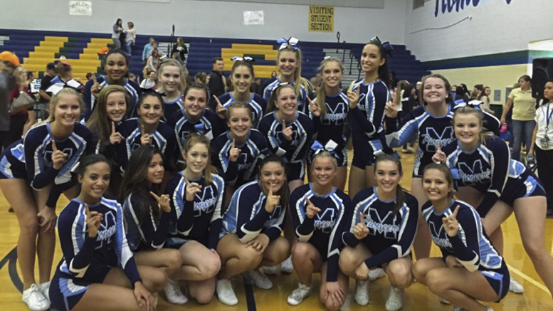 Cheerleaders Claim District Title