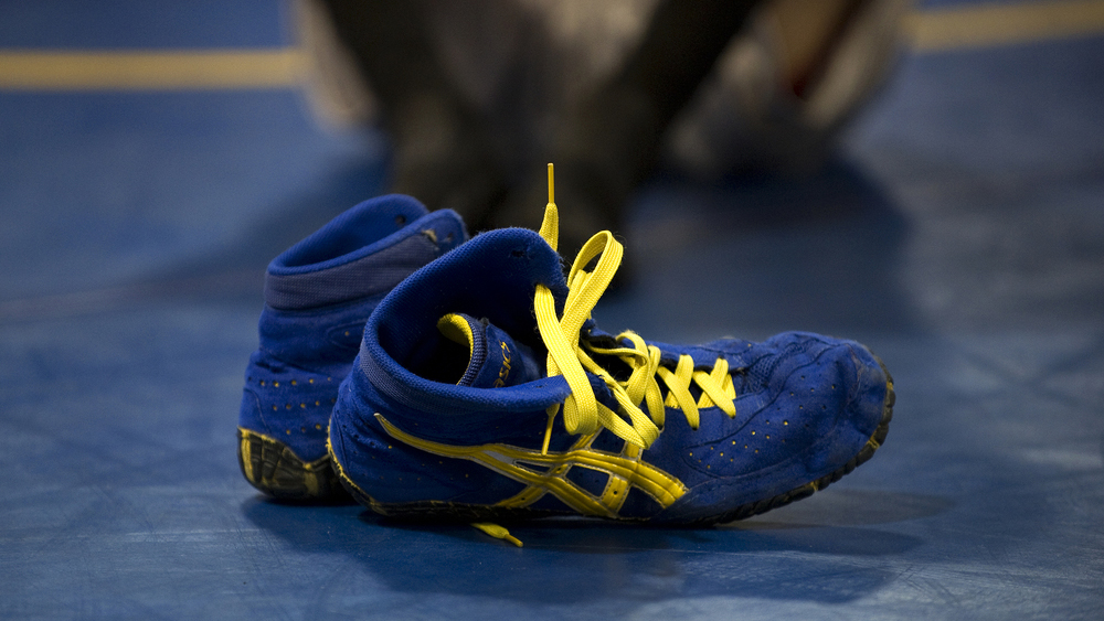 wrestling shoes final