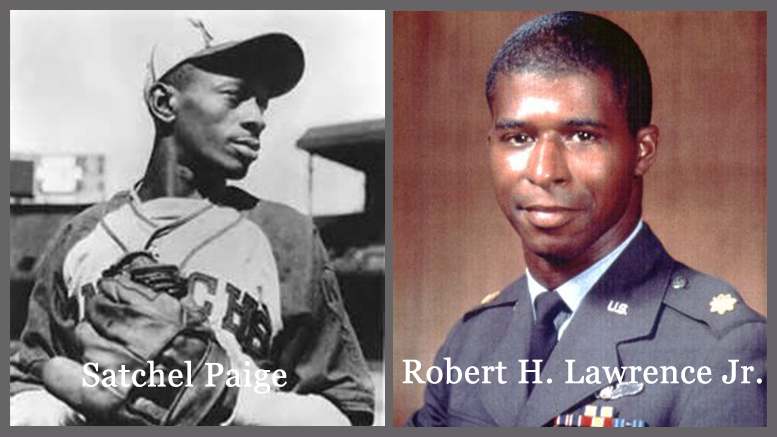 Satchel Paige & Robert H. Lawrence, Jr