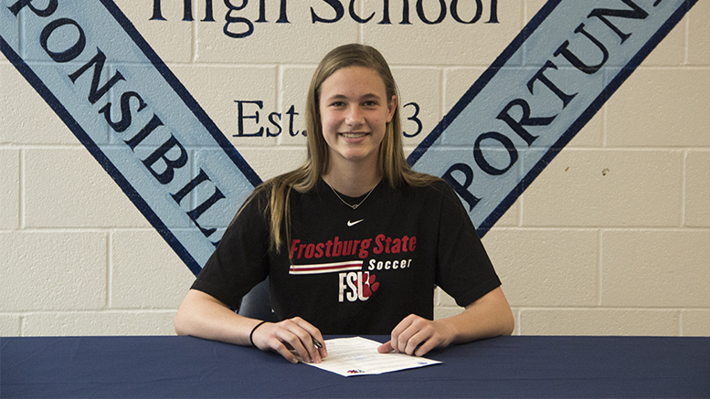 Rylee Learn's Soccer Signing