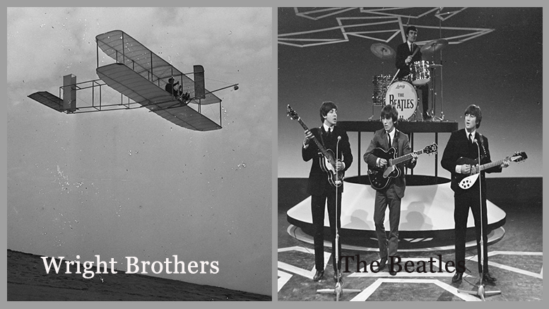 Revolutionary Groups: The Beatles and The Wright Brothers (Failure to Success)