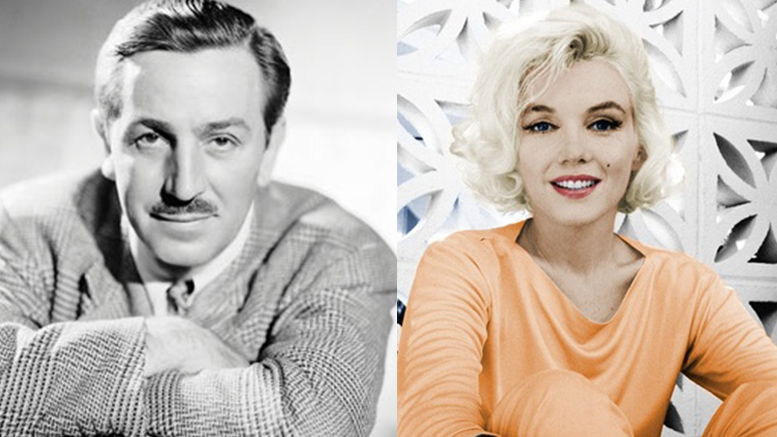 Failure to Success: Walt Disney and Marilyn Monroe