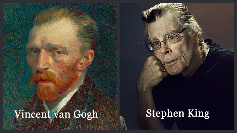 Failure to Success: Vincent Van Gogh & Stephen King