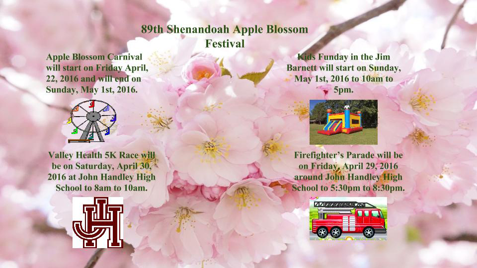 Apple Blossom Events