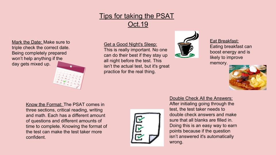Tips for Taking the PSAT