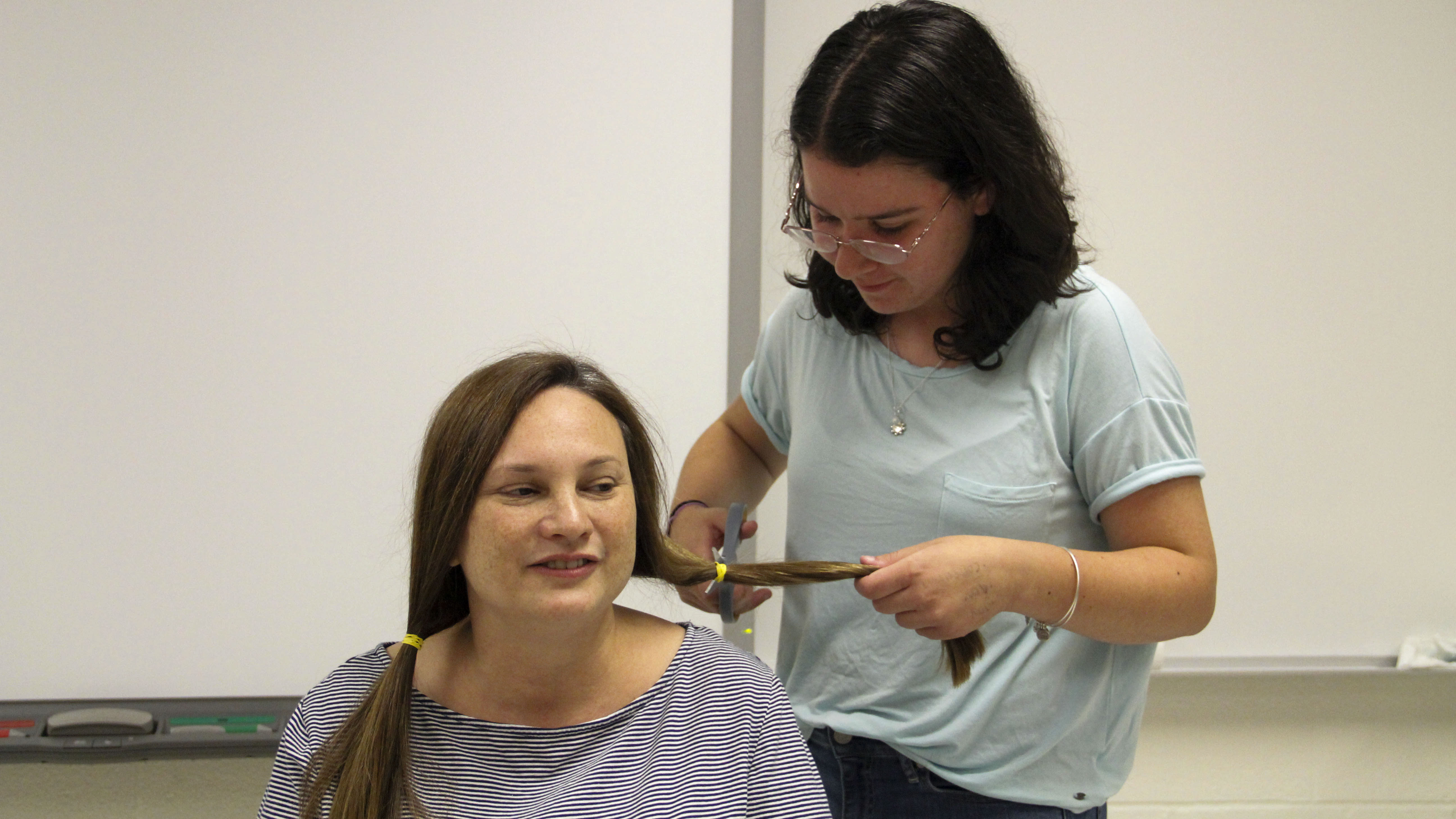 Taking A Cut To Make A Difference