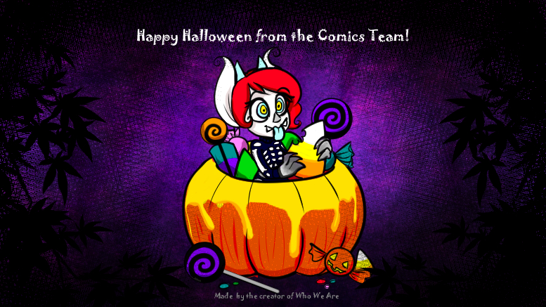 Happy Halloween from the Comic team!