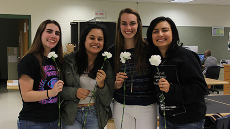 NHS Carnation Acceptance Day