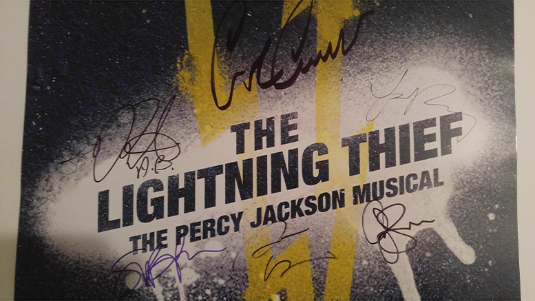 The Lightning Thief Musical Review