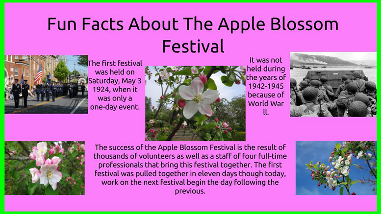 Sunday Funday: Apple Blossom Festival