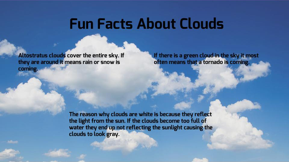 Sunday Funday: Clouds