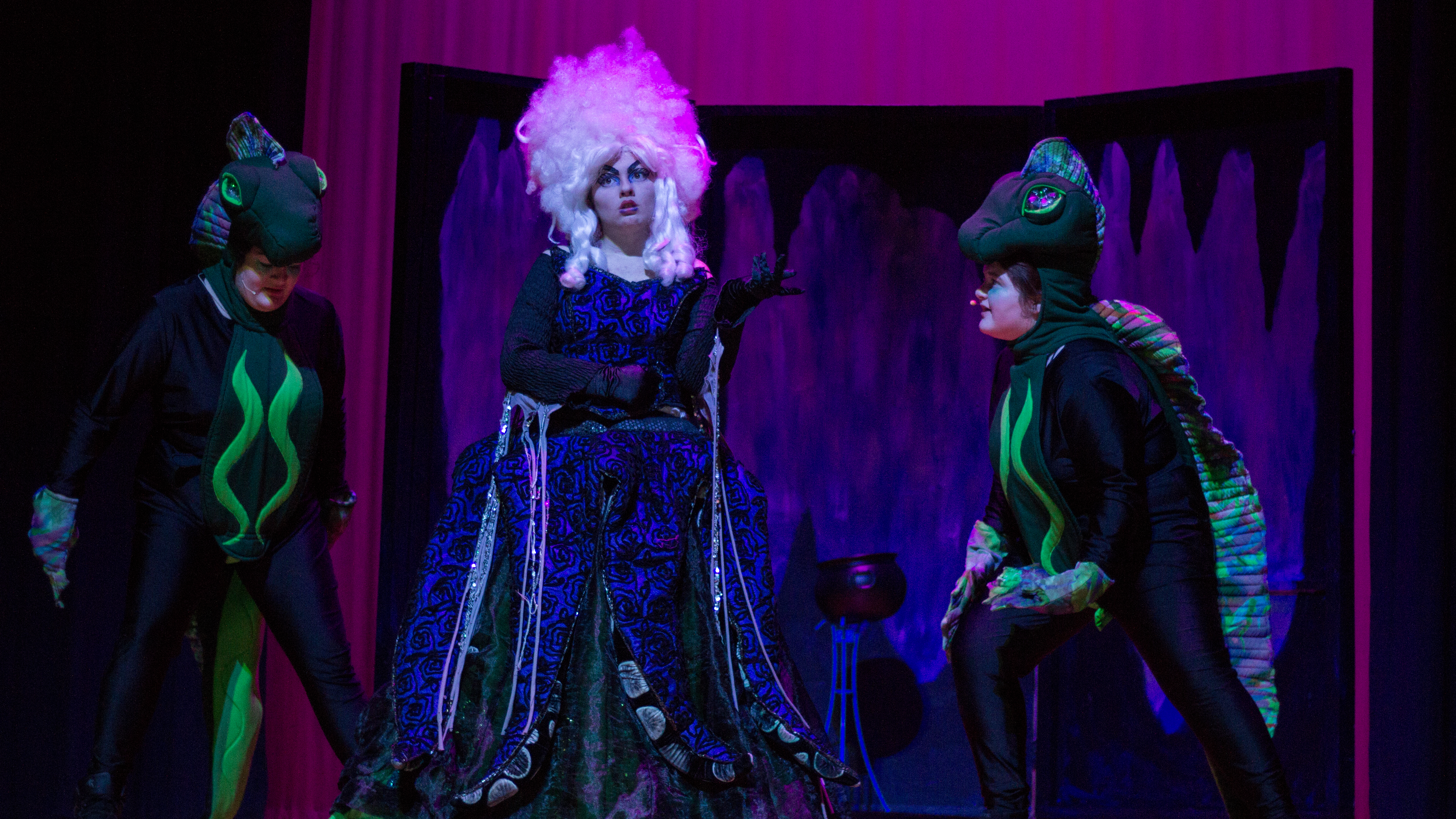 The Infamous Sea Witch: Azariah Boyd as Ursula