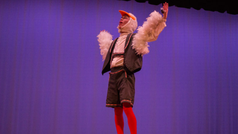 A Winged Companion: Grant Myers as Scuttle